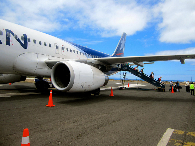 arriving in galapagos islands