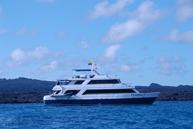 Galapagos by boat